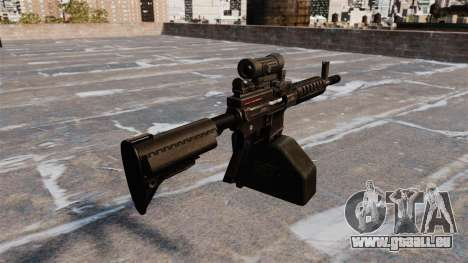 Ares Shrike 5,56 light machine gun pour GTA 4 secondes d'écran