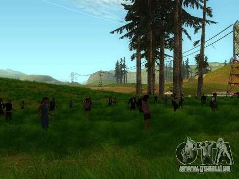 Biker Party 1.0 pour GTA San Andreas deuxième écran