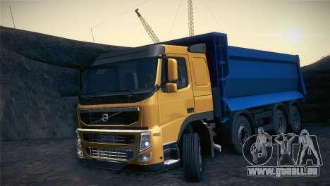 Volvo FM12 8X4 Dumper pour GTA San Andreas