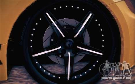 BMW Z4 V10 Stanced pour GTA San Andreas vue de droite