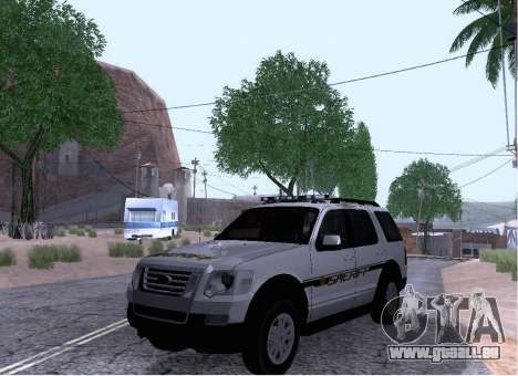 Ford Explorer Sheriff 2010 pour GTA San Andreas