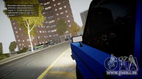 VAZ 2106 Baku pour GTA 4 est une vue de l'intérieur
