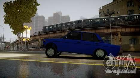 VAZ 2106 Baku pour GTA 4 est une gauche