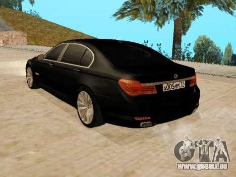 BMW 730Li für GTA San Andreas linke Ansicht