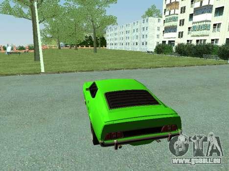 Ford Mustang pour GTA San Andreas vue de droite