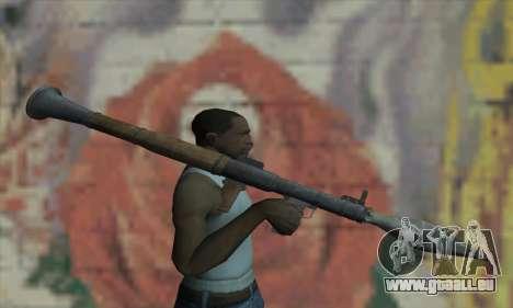 RPG für GTA San Andreas dritten Screenshot