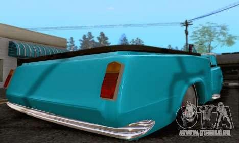 Remorque pour Vaz 2102 pour GTA San Andreas