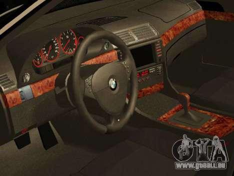 BMW 730 E38 pour GTA San Andreas vue de droite