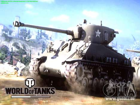 Boot-screen World of Tanks für GTA San Andreas zweiten Screenshot