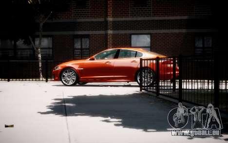 Jaguar XF-R 2012 v1.1 für GTA 4 linke Ansicht