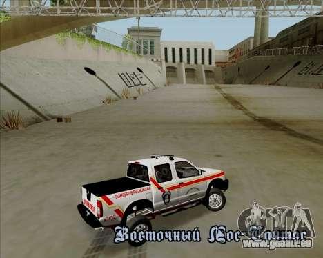 Nissan Terrano pour GTA San Andreas roue