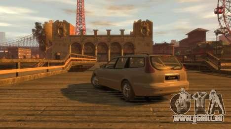 Daewoo Leganza Wagon für GTA 4 linke Ansicht