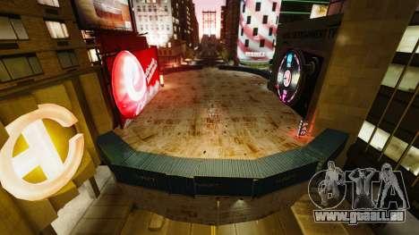 Open arena pour les véhicules de lutte contre l' pour GTA 4 troisième écran