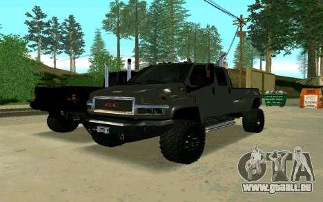 GMC Topkick für GTA San Andreas rechten Ansicht