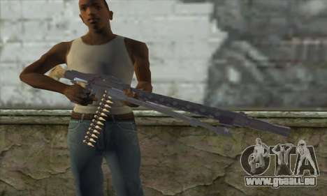 MG42 für GTA San Andreas dritten Screenshot