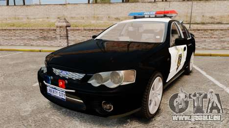 Ford BF Falcon XR6 Turbo LCHP [ELS] für GTA 4