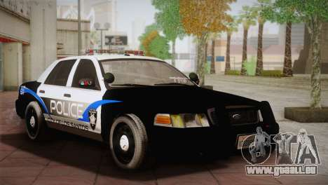Ford Crown Victoria Police Interceptor 2009 für GTA San Andreas