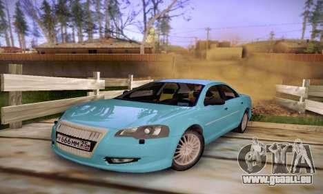 Volga Siber 2.5 AT Restyling pour GTA San Andreas