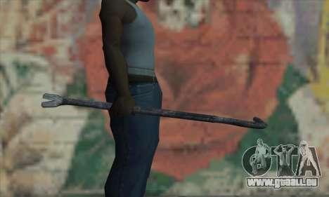 Levier de pneu pour GTA San Andreas troisième écran