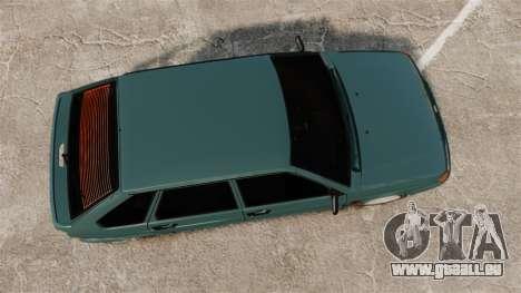 VAZ-2114 Samara-2 pour GTA 4 est un droit