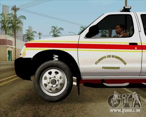Nissan Terrano pour GTA San Andreas moteur