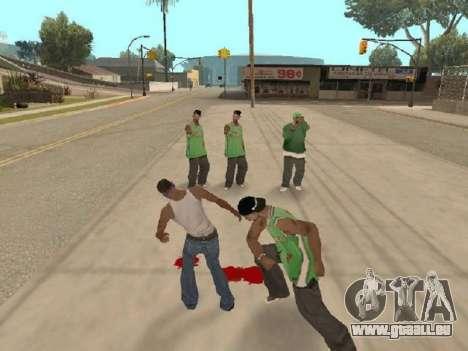 Gehen Sie zu der Bande von Ballas für GTA San Andreas zweiten Screenshot