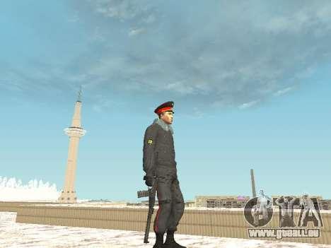 Pack de russe des armes légères pour GTA San Andreas troisième écran