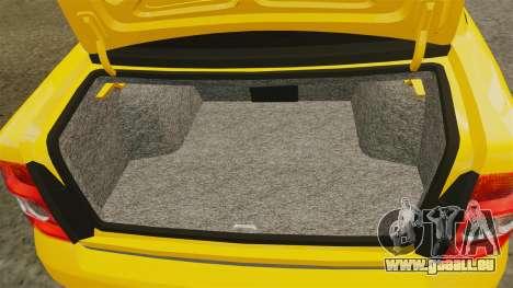 VAZ-Lada 2170 Priora pour GTA 4 est un côté