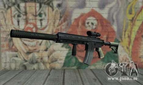 M416 with ACOG sight and silenced für GTA San Andreas