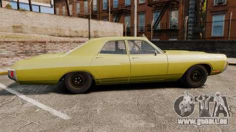 Dodge Polara 1971 pour GTA 4 est une gauche