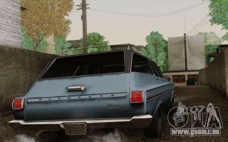 Plymouth Belvedere Station Wagon 1965 für GTA San Andreas linke Ansicht