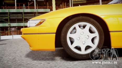 Nissan 240sx Mal de 1992 pour GTA 4 est un droit