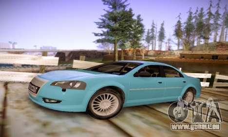 Volga Siber 2.5 AT Restyling pour GTA San Andreas laissé vue