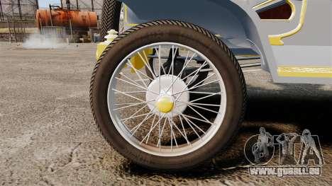 Ford Model T 1910 für GTA 4 Rückansicht