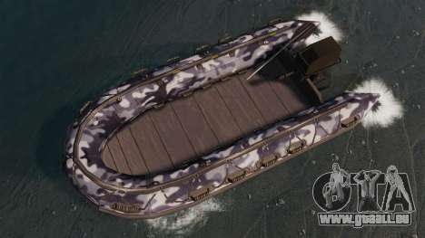 US Navy SEAL Zodiac pour GTA 4 est un droit