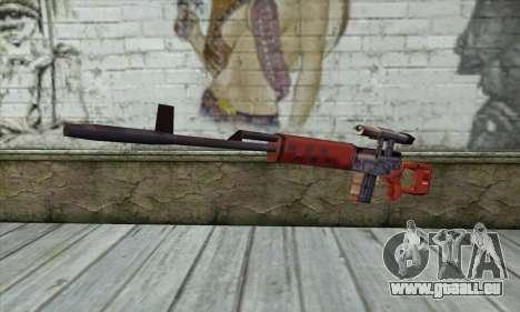 SVD Fusil de Sniper pour GTA San Andreas