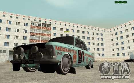 Moskvitch 412 Rallye pour GTA San Andreas