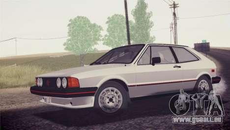 Volkswagen Scirocco S (Typ 53) 1981 HQLM für GTA San Andreas Innen
