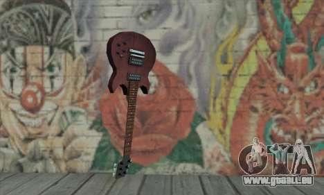 Gitarre von L4D für GTA San Andreas