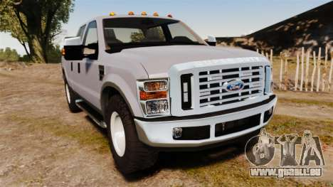 Ford F-250 Super Duty Police Unmarked [ELS] pour GTA 4