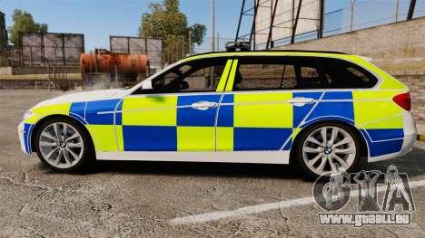 BMW 330d Touring (F31) 2014 Police [ELS] für GTA 4 linke Ansicht
