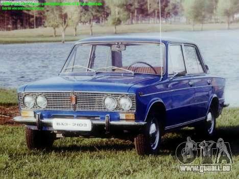 Boot-screens sowjetischen Autos für GTA San Andreas