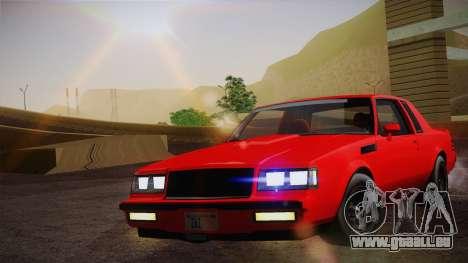 Buick Regal GNX pour GTA San Andreas