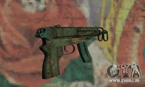 Scorpion VZ61 für GTA San Andreas zweiten Screenshot