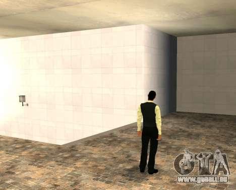 La peau vwmybjd pour GTA San Andreas deuxième écran