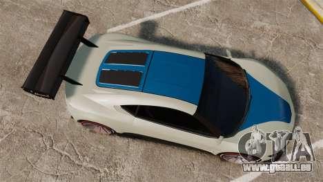 GTA V Dinka Jester für GTA 4 rechte Ansicht