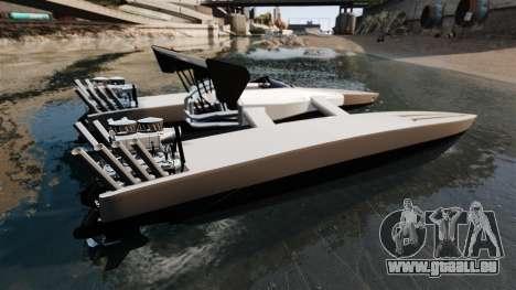 Dragboat Twin V8 pour GTA 4 est une gauche