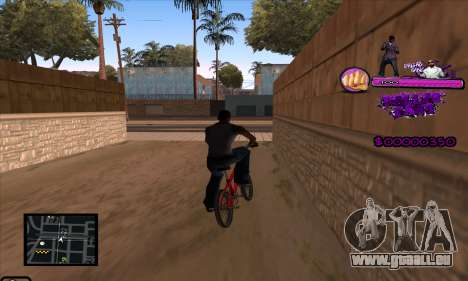 C-HUD Ballas Gang für GTA San Andreas