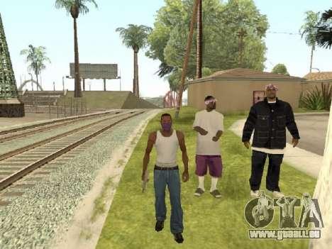Gehen Sie zu der Bande von Ballas für GTA San Andreas