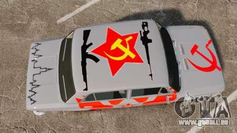 VAZ-Lada 2101 URSS pour GTA 4 est un droit